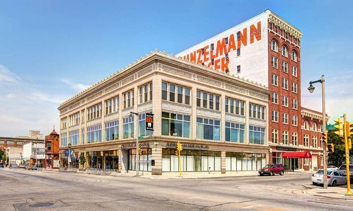 Apartments for Rent in Milwaukee, WI | Kunzelmann-Esser Lofts - well it looks good and they have a darkroom? and a potter's wheel?? have some income-restricted apts, but would wind up being really expensive w/pet rent and parking rent and fees and whatnot?