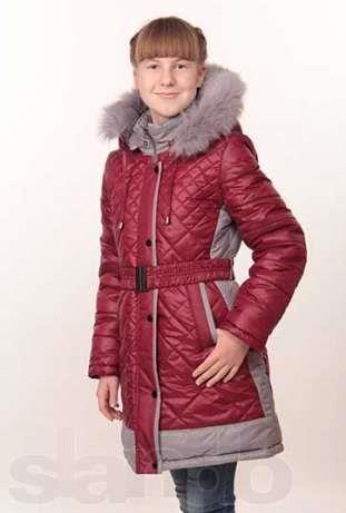 Морское подростковое пальто