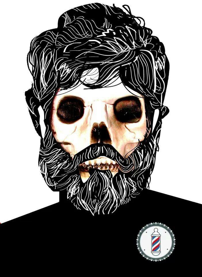Old Skull. Barba historia