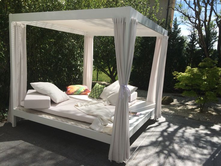 die besten 25 daybed garten ideen auf pinterest daybed outdoor balkonm bel lounge und. Black Bedroom Furniture Sets. Home Design Ideas