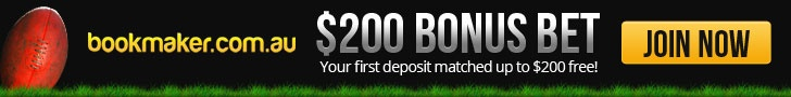 This is a complete  Unbiased and Honest  Bookmaker.com.au Review,Within you will find everything you will need to know about Bookmaker.com.au. The look and feel to their website,Racing and sports Markets, Promotions, Competitions, Free Bets,New Members Offer and lots more.