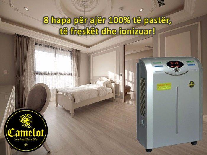 Pastrues ajri Imperial Tech Executive. 8 hapa për ajër 100% të pastër, të freskët dhe ionizuar. Hapi i parë: Filtra specialë. Hapi i dytë: Ajri filtrohet me ujë. Hapi i tretë: Filtra specialë. Hapi i katërt: Sterilizim me Ozon. Hapi i pestë: Filtër antibakterial. Hapi i gjashtë: Ajri kalon në filtrin HEPA. Hapi i shtatë Ajri kalon në filtrin me karbon aktiv. Hapi i tetë: Pasurim me ione negative në ionizuesin më të sofistikuar automatik të ajrit.