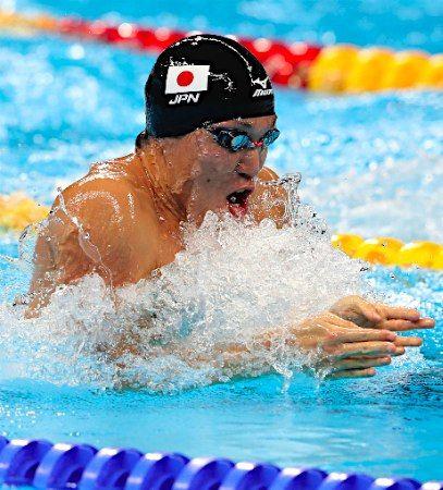 小関の力泳 :フォトニュース - リオ五輪・パラリンピック 2016:時事ドットコム