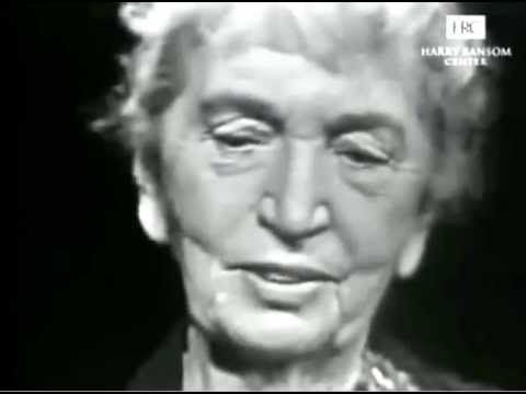 The 1957 Mike Wallace Interview Margaret Sanger - YouTube