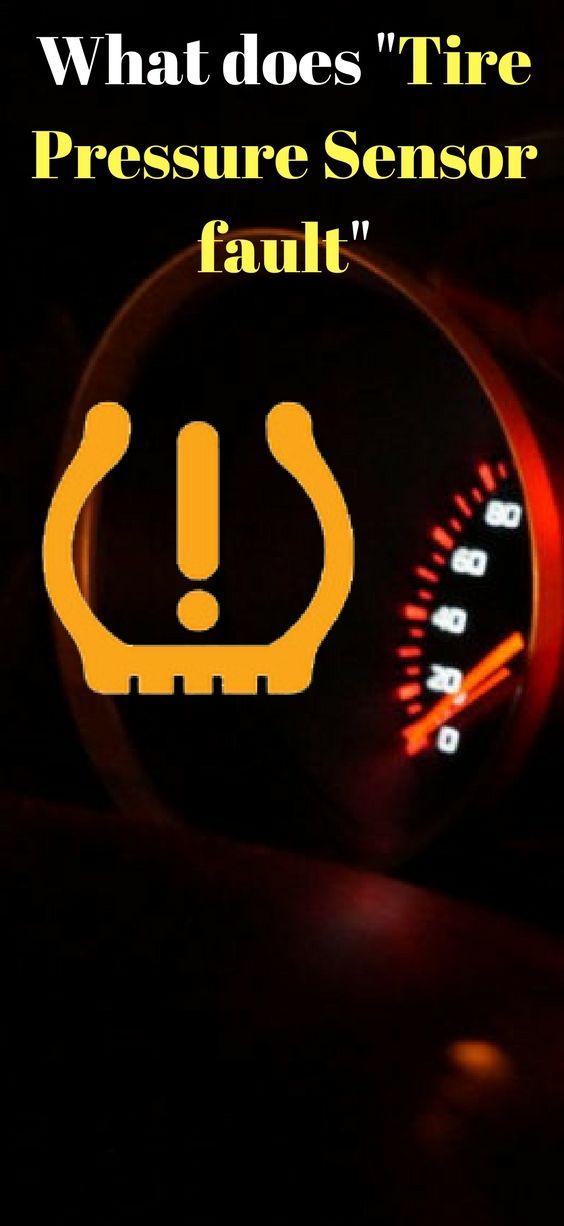 Tire Pressure Sensor Fault >> What Does Tire Pressure Sensor Fault Mean Mecanica