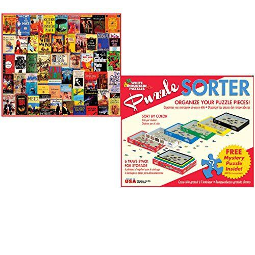 White Mountain Puzzles 1000 Piece Best Sellers Adult Jigsaw Puzzle with Puzzle Accessories including 6 Puzzle Sorter Trays and Mystery Puzzle - http://www.bestseller.ws/blog/toys-and-games/white-mountain-puzzles-1000-piece-best-sellers-adult-jigsaw-puzzle-with-puzzle-accessories-including-6-puzzle-sorter-trays-and-mystery-puzzle/