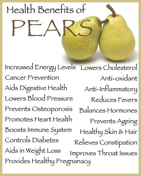 Health Benefits of Pears www.MarysLocalMarket.com Sustainable. Natural. Community. #maryslocalmarket