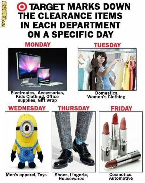 Target sale days