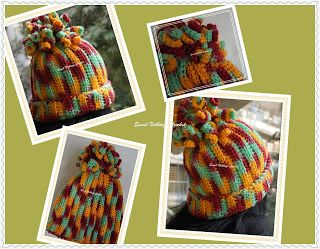 Sweet Nothings Crochet Jas' spirally wonderful beanie