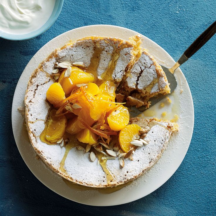 Clementine Tarta de Santiago recipe  Taken from Cut the Carbs! By Tori Haschka (Quadrille)