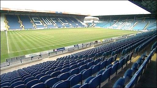 Hillsborough Stadium, Sheffield, South Yorkshire, United Kingdom. Home to Sheffield Wednesday Football Club