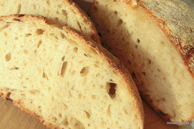 Pan di Pane: Ricetta  No-knead bread. Pane senza impasto, cotto...