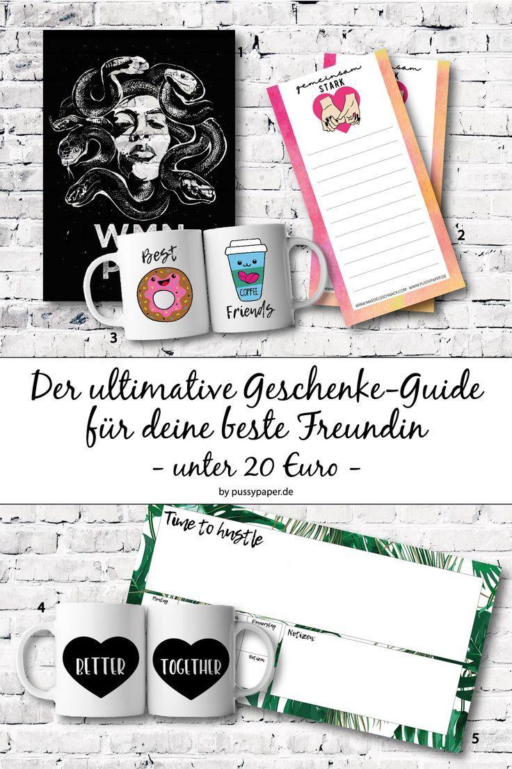 Hier findest du den ultimativen Geschenke Guide für deine beste ...