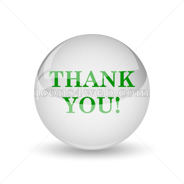 Thank You Glossy Icon Thank You Glossy Button Royalty Free Icons Icon Web Design