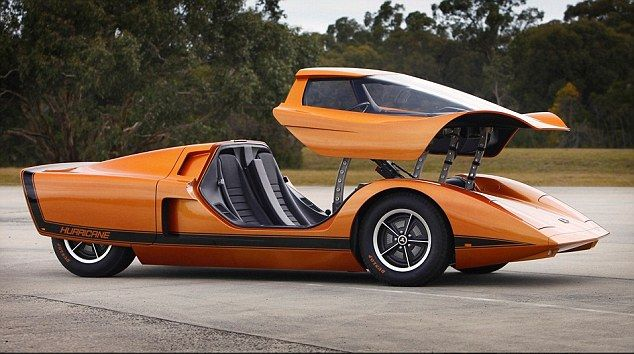 1969 Holden Hurricane concept car - restored 2011 Working GPS, auto climate control and backup camera...in 1969!