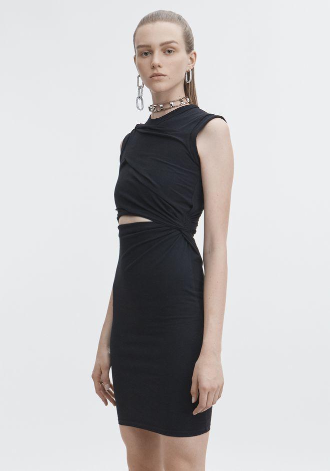 T By Alexander Wang Keyhole Twist Dress Twisted Dress Dresses Clothes Design