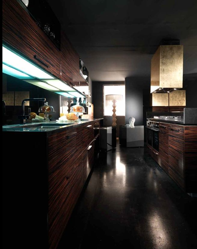 Dark Wood Modern Kitchen Cabinets 40 best kitchen modern axis cucine images on pinterest | kitchen