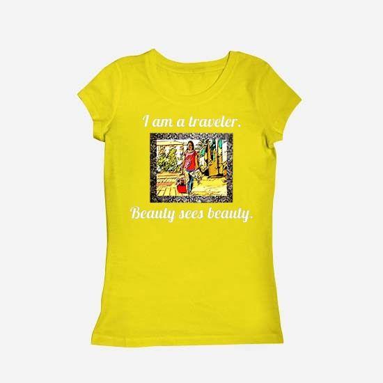 I am Traveler. Kaos Wanita, Cewek tersedia berbagai warna #kaoscewek #kaoswanita #kaostraveler #kaoscantik #jalan-jalan #distro