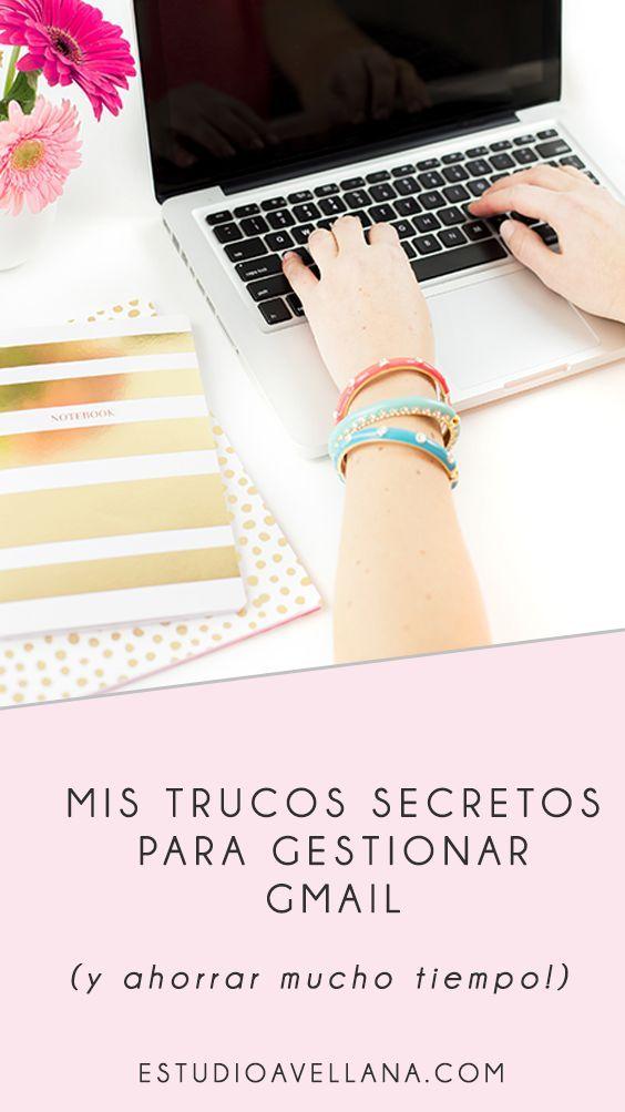 Ideas para gestionar el correo, trucos de gmail en español.
