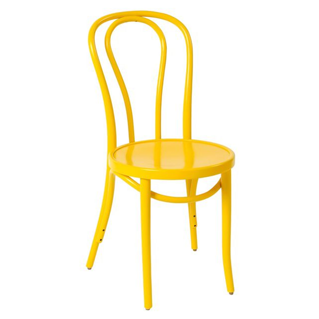 Bentwood Chair No18 Yellow - Made in Poland - Classic Michael Thonet Design - Available at JMH Furniture   Delivery Australia wide