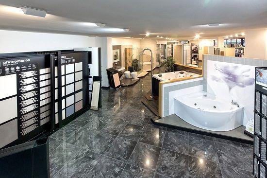 Interno dello showroom Berni a #Empoli - area #wellness