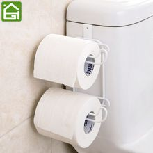 2 слоя Ванная комната висит Организатор рулона туалетной бумаги Крюк Полка кухонный шкаф дверь держатель полотенца для хранения ткани веша...(China (Mainland))