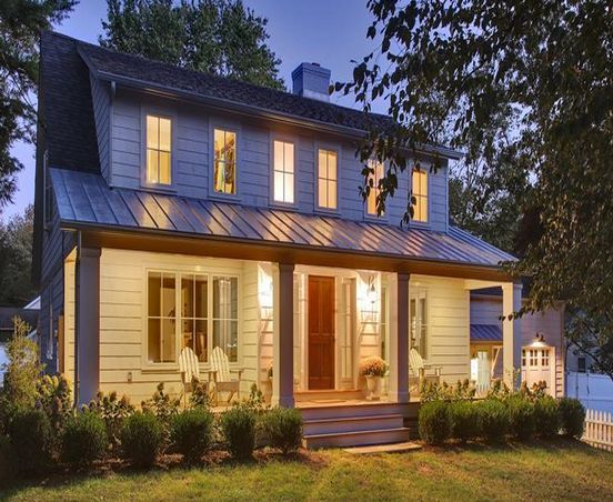 Roof Design Ideas: Front Dormer, Front Porch Metal Roof