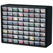 Akro-Mils Plastic Storage Cabinet 64 Drawer Image 2 of 3