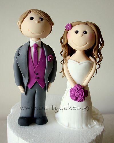 Bride Groom toppers 2