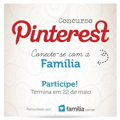 Participe do Concurso Pinterest - Familia.com.br e concorra a um Smartphone Samsung Galaxy Ace Duos S6802. Saiba como aqui!
