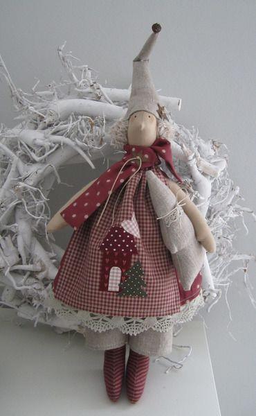Weihnachts-+Wichtel++im+Landhausstil+von+Feinerlei+auf+DaWanda.com