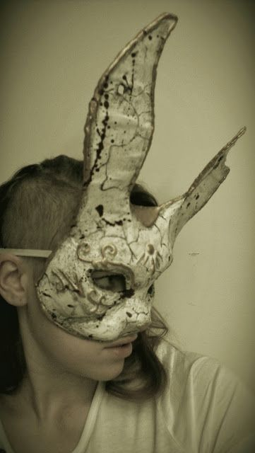 Make you own #Bioshock Splicer Bunny Mask. #DIY #cosplay  This might happen.....yeah