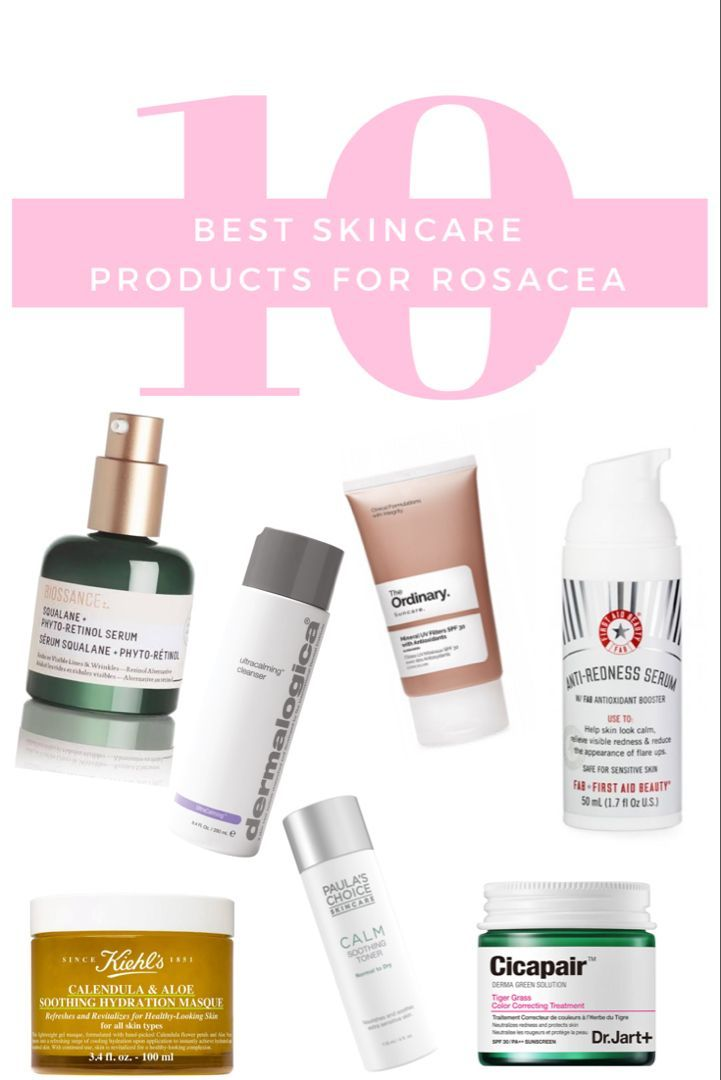 10 Best Skin Care Products For Rosacea In 2019 Anti Redness Skincare Routine Anti Redness Rosacea Skin Care Rosacea Skin Care Routine