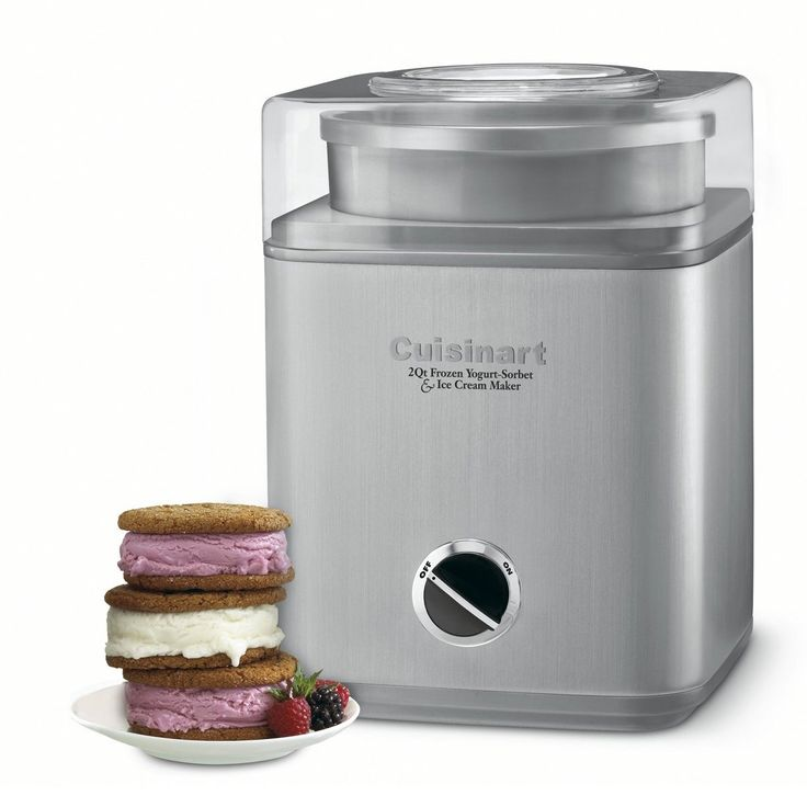 Personal Edge : Pure Indulgence ICE30BC frozen yogurt-ice cream & sorbet maker