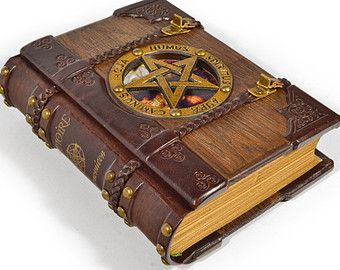 altered grimiore | ... , magic journal, grimoire, book of shadows, unique gift, gift box
