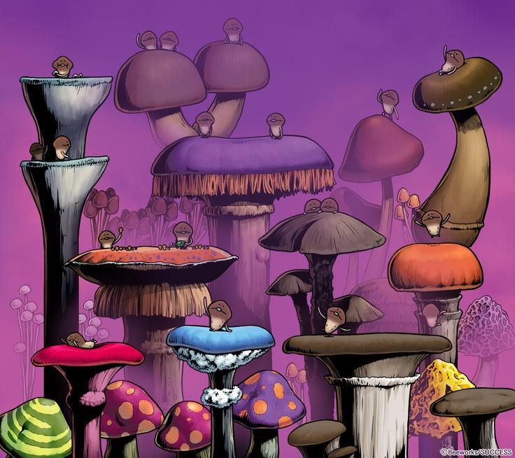 Wallpaper ♥ Funghi Gardening