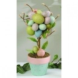 easter decoration - Google Search | Easter | Pinterest | Topiary Trees ...