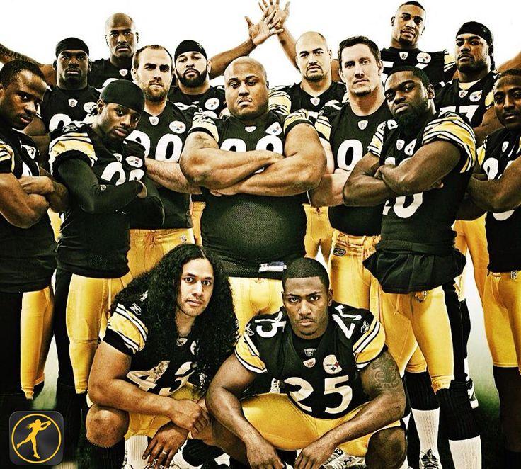 The Pittsburgh Steelers Defense is the number ranked defensive unit in the NFL.  #Polamalu #Steelers #BrandLegendary #RyanClark