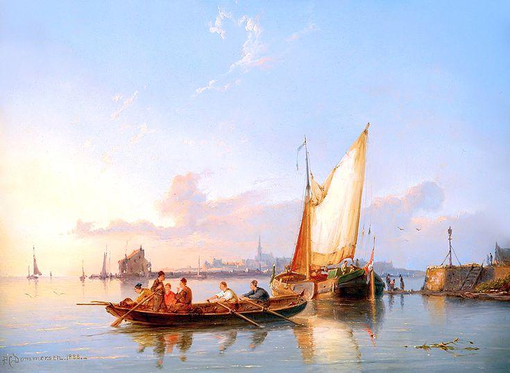 Peter Cornelis Dommersen (1834-1918)
