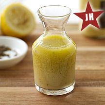 Low Fat Mustard Vinaigrette from Weight Watchers.  Will try with agave or maple syrup instead of honey.