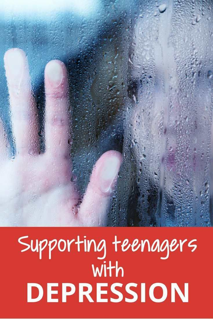 A guide for parents and other adults who are supporting teenagers and children with depression.