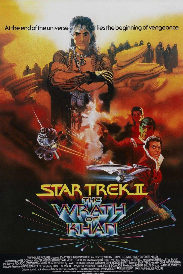 The movie poster for Star Trek 2, before the current Star Trek 2!