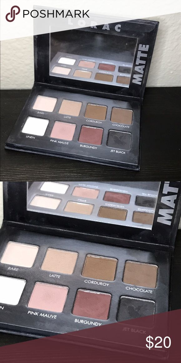 Lorac PrO Matte Palette Amazing every day palette!!! Gorgeous matte shades that are super blendable! Makeup Eyeshadow