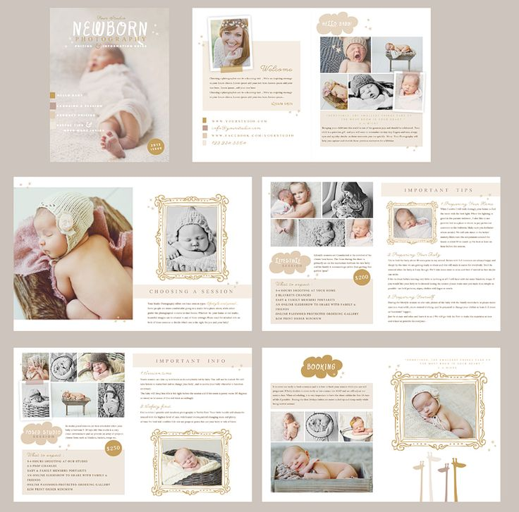 Naturally Sweet Newborn by Oh Snap Boutique on @creativemarket