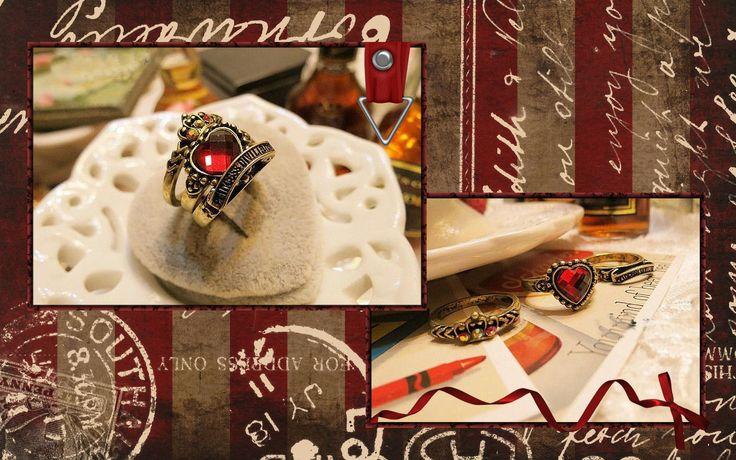 Anillos triple Love Crown - 3€ Ref: A101