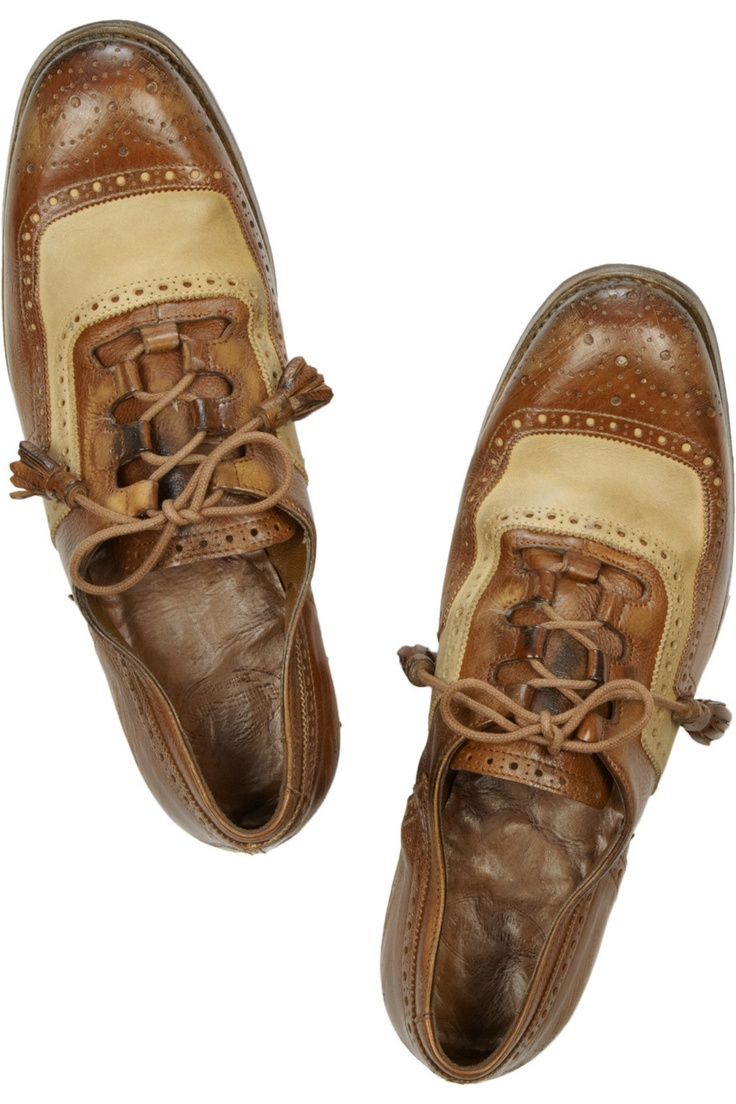 Church's - Shanghai two-tone leather brogues