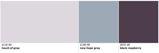 Benjamin moore paint colour touch of gray grey and pale Touch of grey benjamin moore