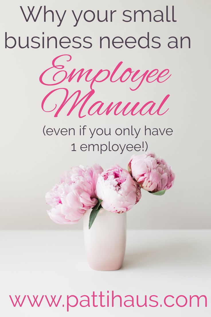 Stay compliant and keep your employees happy and motivated by having an employee manual for them to follow.