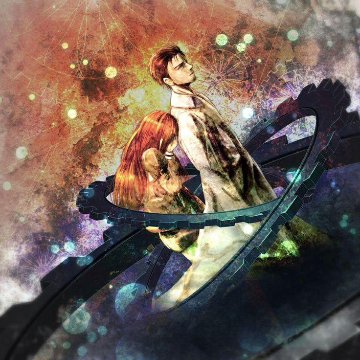 Japanese anime illustration art Steins gate 0, Steins