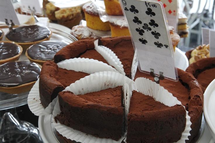 Gluten Free, Flourless Chocolate Mud Cake.